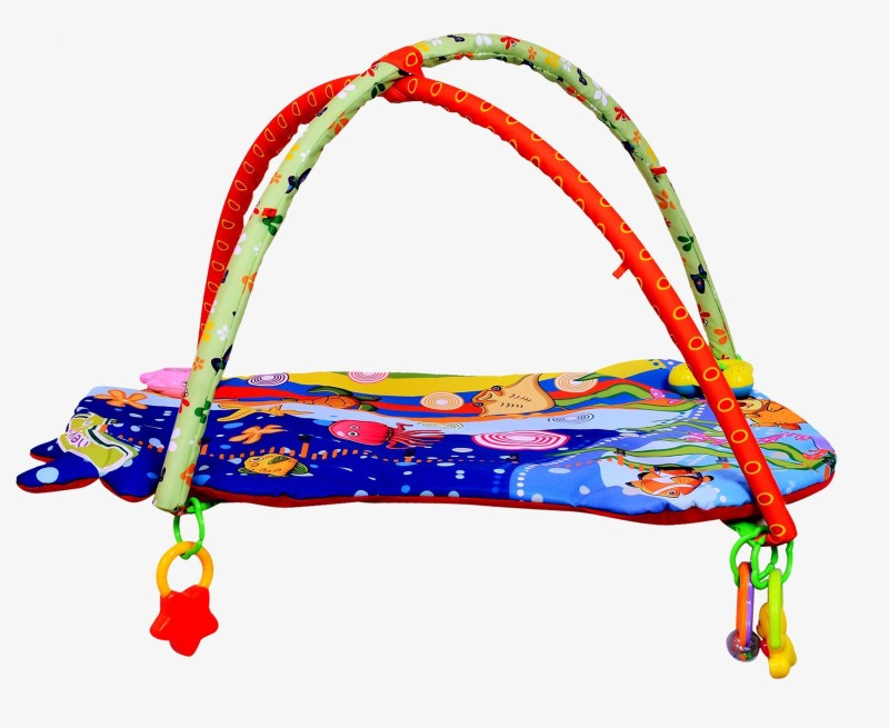 Planet of Toys Baby Activity Playmat Gym(Multicolor)