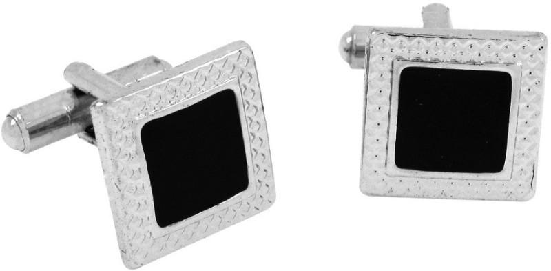 The Jewel Box Brass Cufflink(Black)