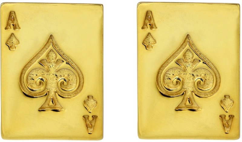 Exxotic Jewelz Brass Cufflink(Gold)