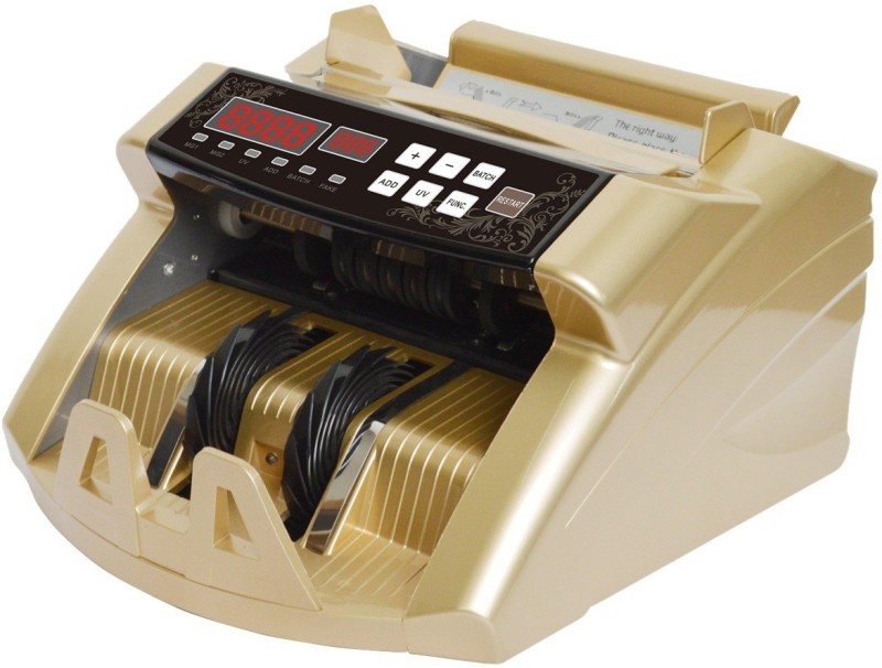 swaggers Bank money counter MODEL SW - GOLD LED Countertop Currency Detector(UV, IR, MG)