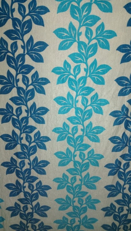 Cortina 5167 Curtain Fabric(Blue, 5 m)