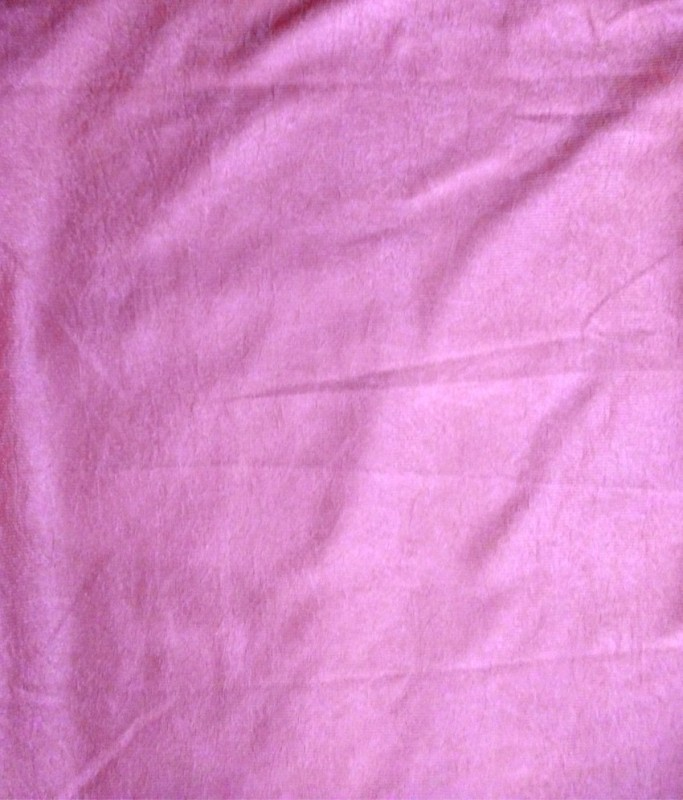 Excel Bazaar PCF463 Curtain Fabric(Pink, 6 m)