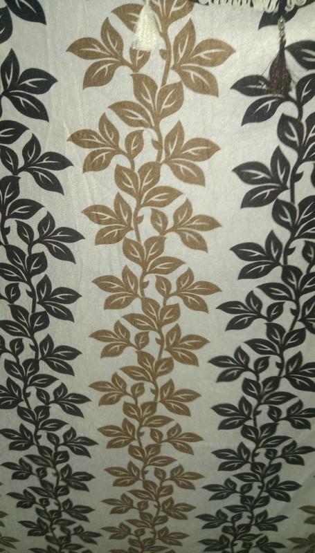 Cortina 5203 Curtain Fabric(Brown, 8 m)
