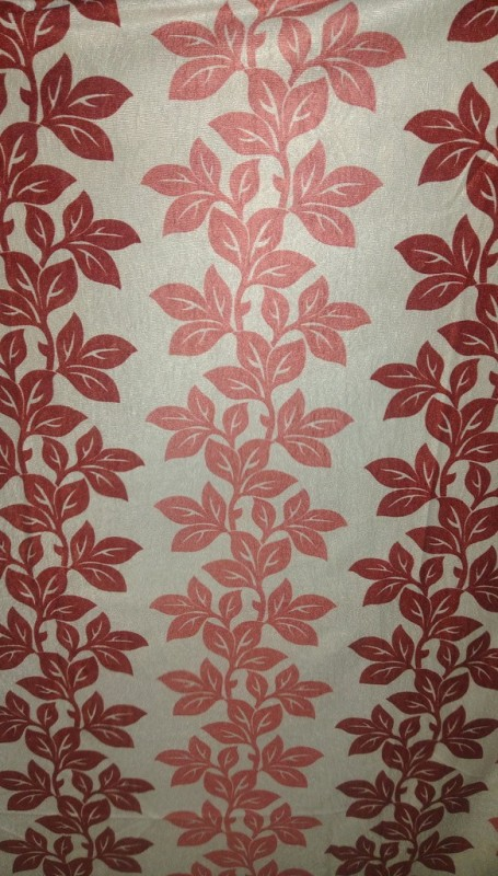 Cortina 5164 Curtain Fabric(Maroon, 5 m)