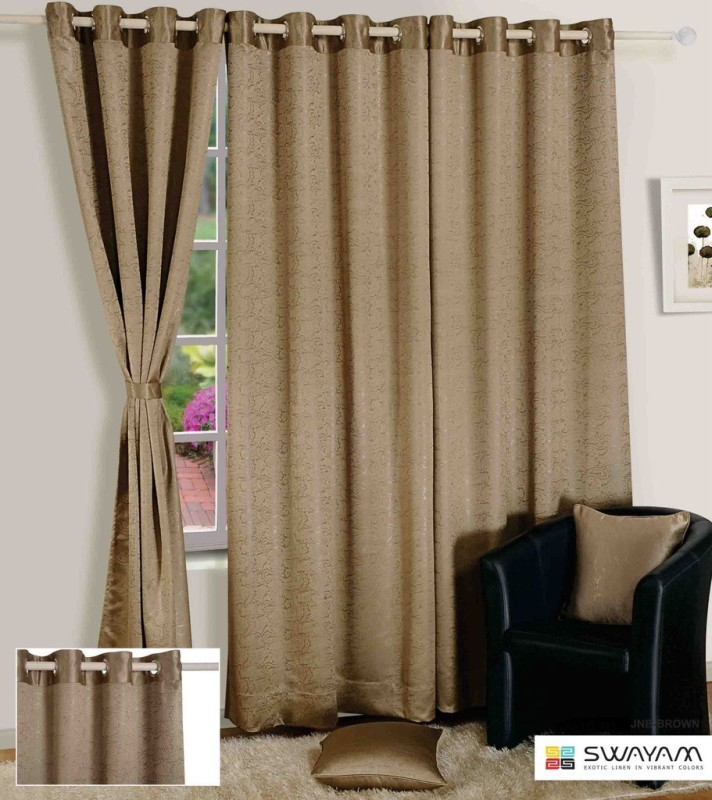 check MRP of swayam window curtains Swayam
