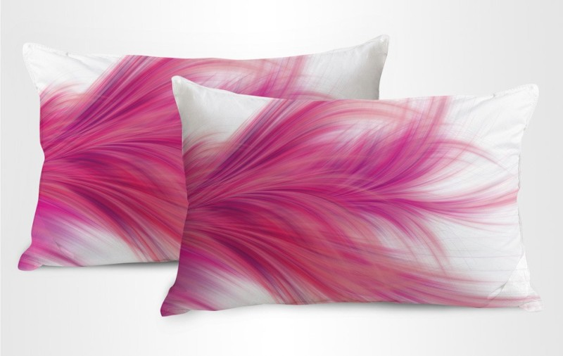 StyBuzz Printed Pillows Cover(Pack of 2, 71 cm*46 cm, Multicolor)