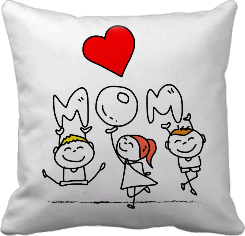 Tied Ribbons Self Design Cushions Cover(30 cm*30 cm, Multicolor)