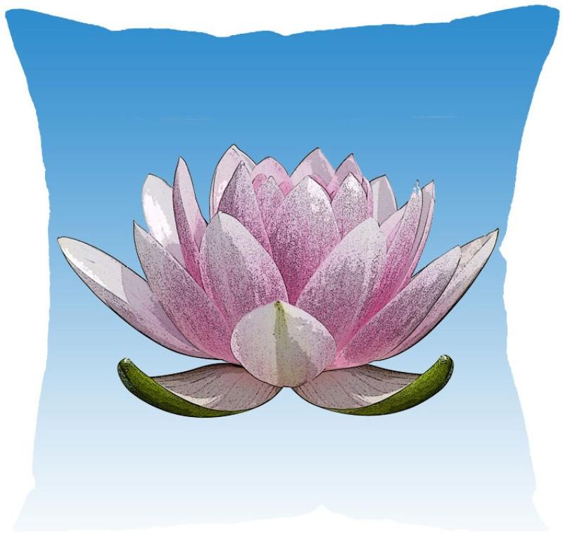 Fabulloso Printed Cushions Cover(31 cm*31 cm, Blue)