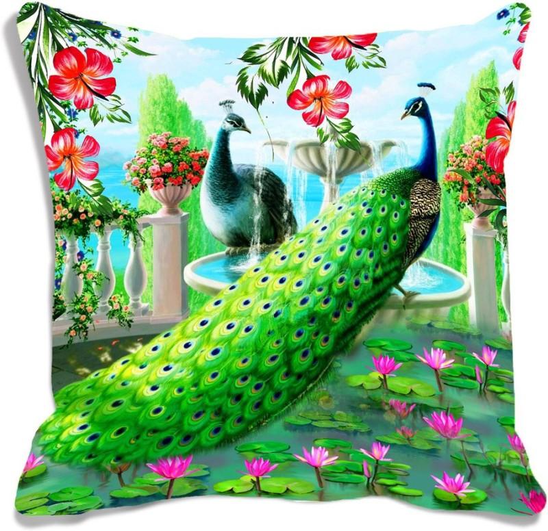 meSleep 3D Printed Cushions & Pillows Cover(30 cm*30 cm, Multicolor)