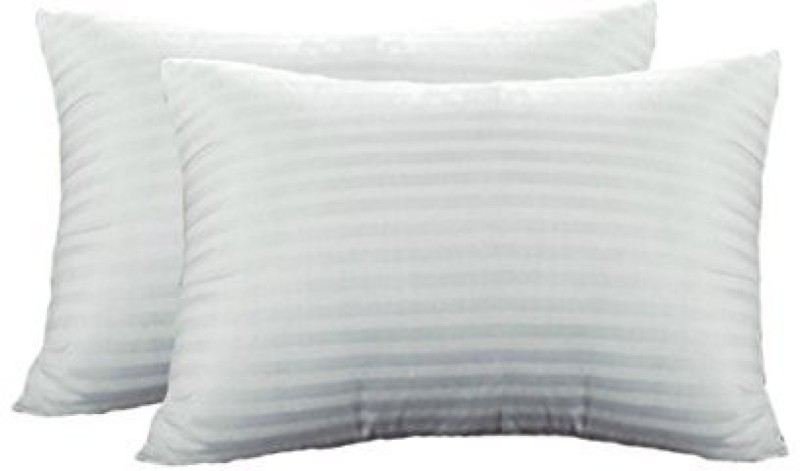Loomkart Abstract Pillows Cover(Pack of 2, 44 cm*69 cm, White)