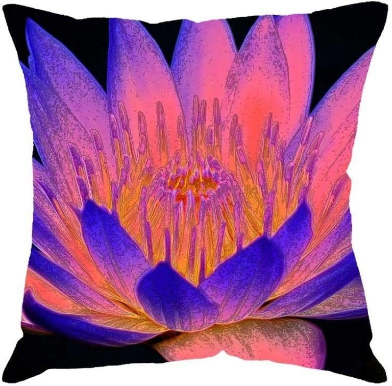 Fabulloso Printed Cushions Cover(41 cm*41 cm, Multicolor)