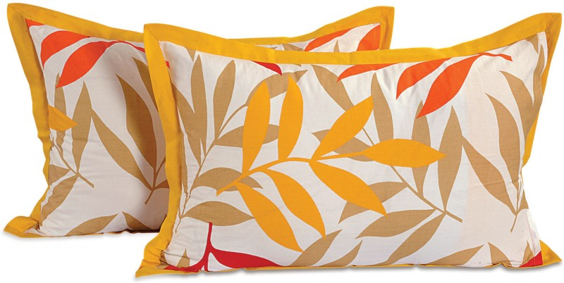Swayam Printed Pillows Cover(Pack of 2, 46 cm*71 cm, Multicolor)