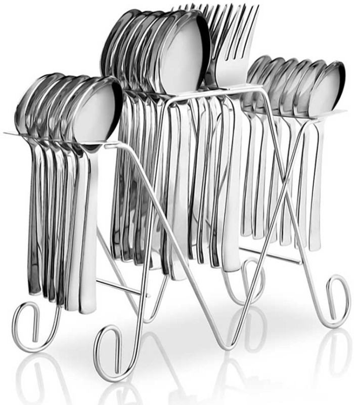 POGO Anthem Stainless Steel Cutlery Set(Pack of 25)