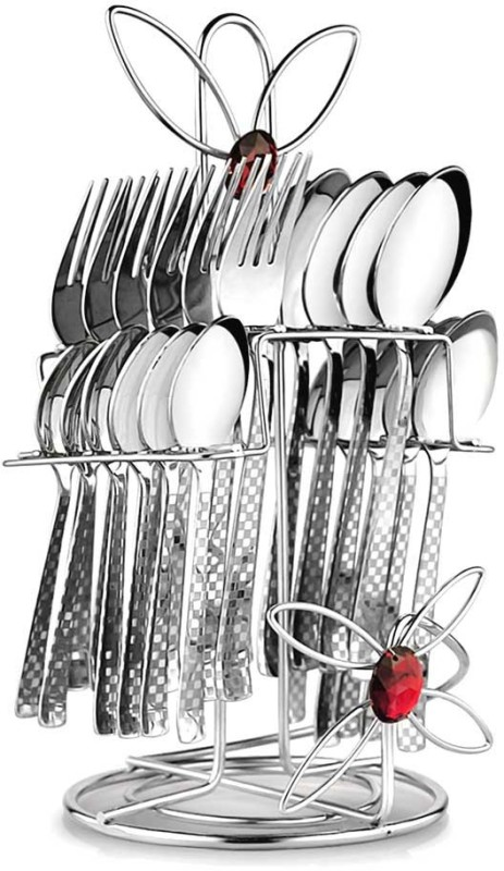 POGO Myra Stainless Steel Cutlery Set(Pack of 25)