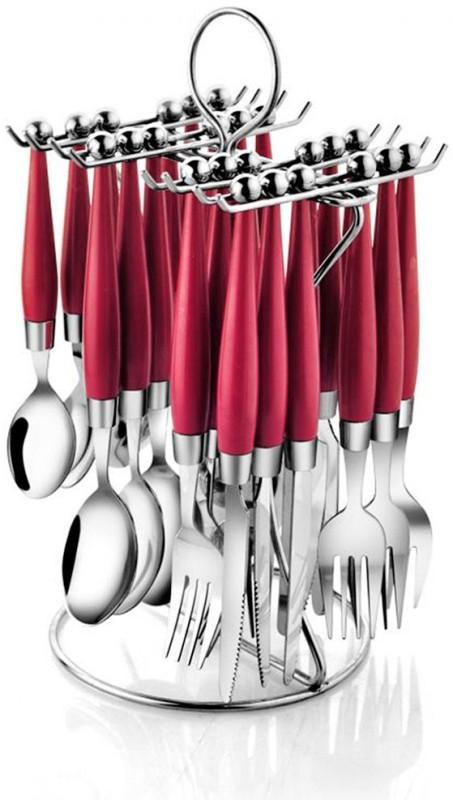 POGO Orbit Stainless Steel Cutlery Set(Pack of 25)