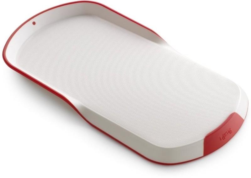 Lekue PP (Polypropylene) Cutting Board(White, Red Pack of 1)