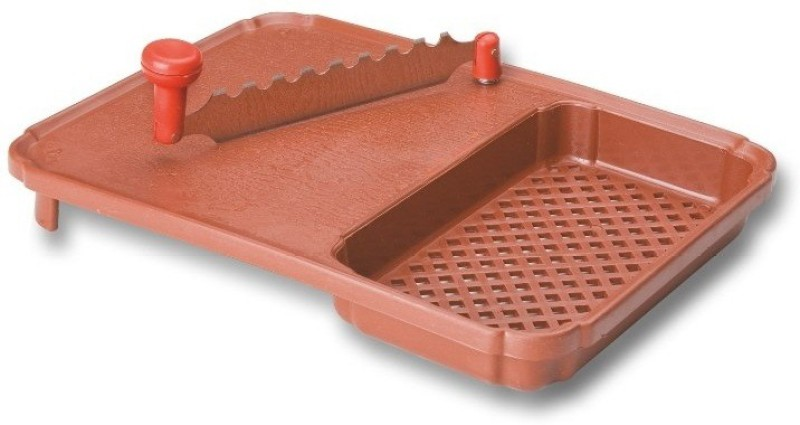 Sona Chop & Wash Plastic Cutting Board(Brown Pack of 1)