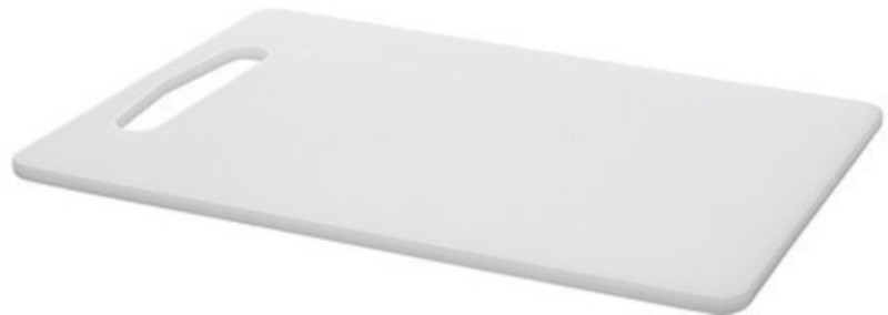Ebigshopping PP (Polypropylene) Cutting Board(White Pack of 1)