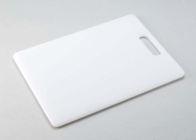 SDEEP Plastic Cutting Board(White Pack of 1)