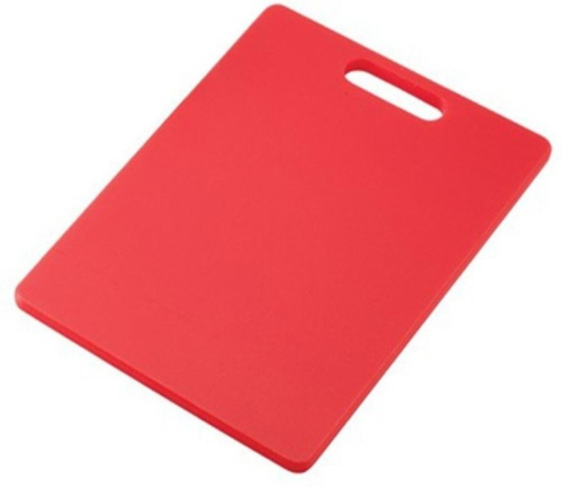Ebigshopping PP (Polypropylene) Cutting Board(Red Pack of 1)
