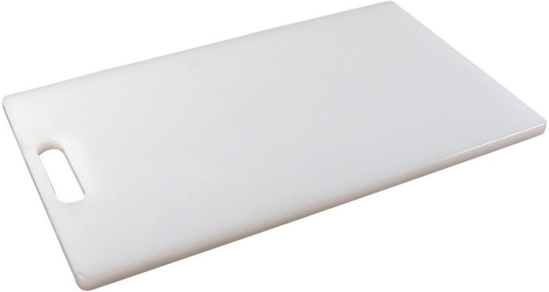 Ebigshopping Plastic Cutting Board(White Pack of 1)