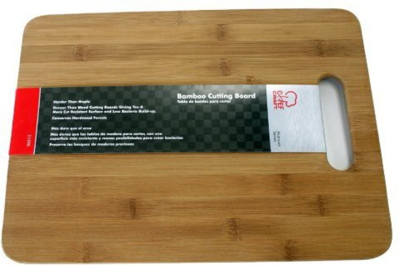 Chef Craft 21590 1Piece 11 By 15 Bamboo Cutting Board