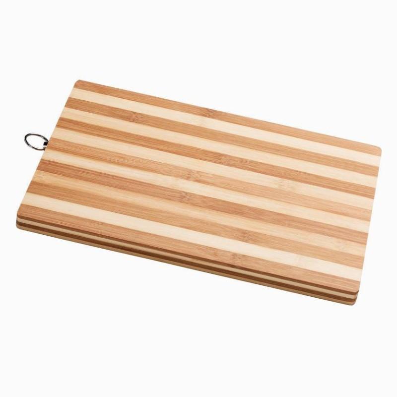 TRISHA Bamboo Cutting Board(Pack of 1)