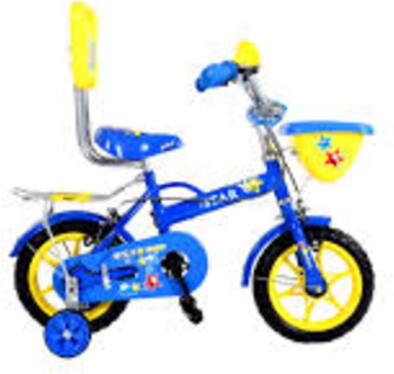 BSA CHAMP STAR 14 INCH BICYCLE BLUE 14 T Single Speed Recreation Cycle(Blue, Yellow)