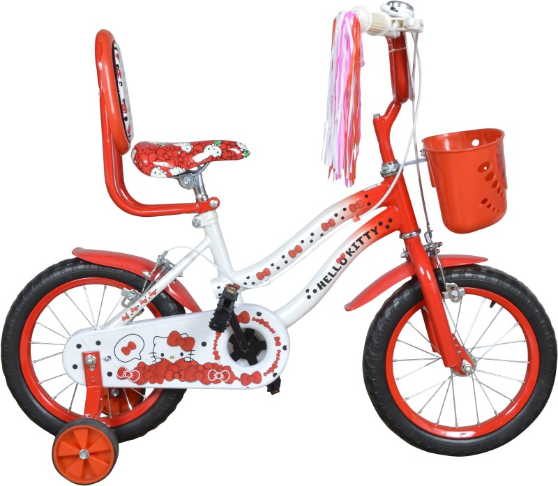 Excel Hello Kitty 14 Inches 14 T Recreation Cycle(Single Speed, Red)