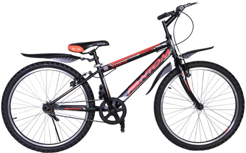 Fantom Single Speed Ryder 24 T Mountain Cycle(Single Speed, Multicolor)