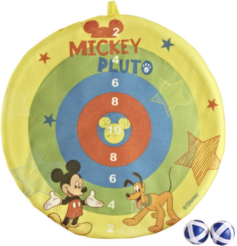 Disney Mickey Dartboard Slimeball Soft Tip Dart(Yellow, Pack of1)