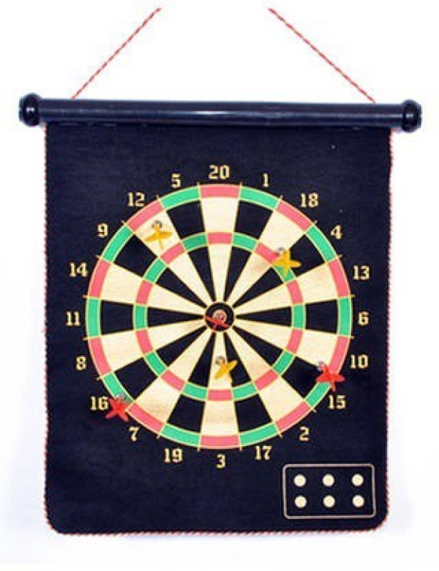 Kaizan Dartboard Magnet Large Size Soft Tip Dart(Multicolor, Pack of1)
