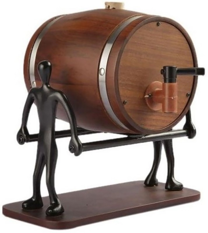 Veepee Decanter(Wood, 25.3 oz)