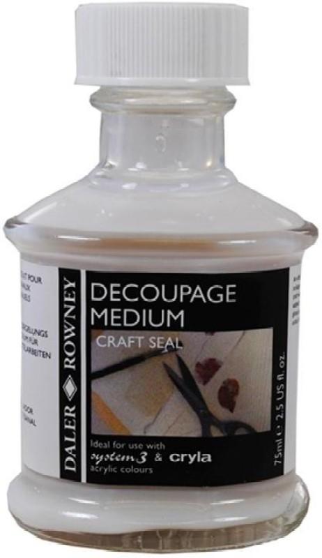 Daler-Rowney 128300026 Gloss Finish Decoupage Medium(75 ml, Pack of 1)