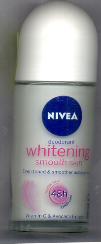 Nivea Whitening Smooth Skin Deodorant Roll-on - For Women(50 ml)