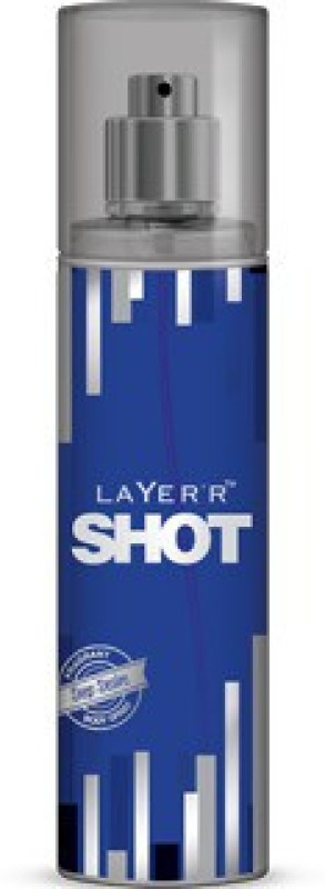 Layerr Shot - Deep Desire Deodorant Spray - For Men(135 ml)