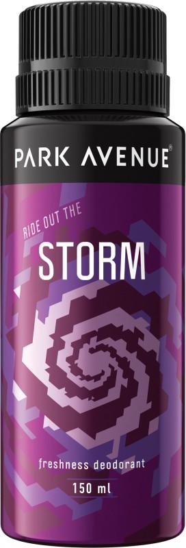 Park Avenue Storm Freshness Deodorant Spray - For Men(130 ml)