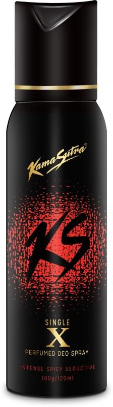 KamaSutra Black X Single Perfumed Body Spray - For Men(120 ml)
