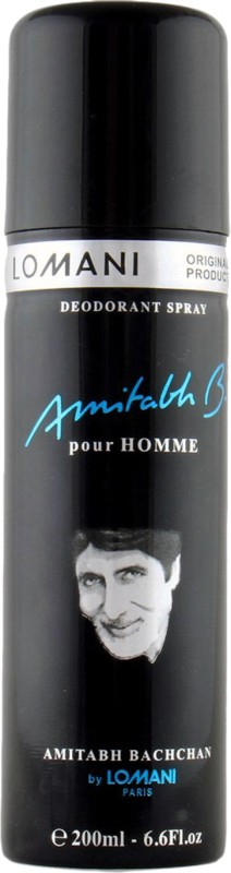 Lomani Lomani Amitabh B. Deodorant Spray - For Men(200 ml)