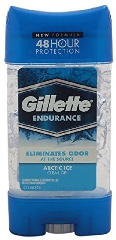 Gillette Endurance Arctic Ice Clear Gel Deodorant Stick  -  For Men(212 g)