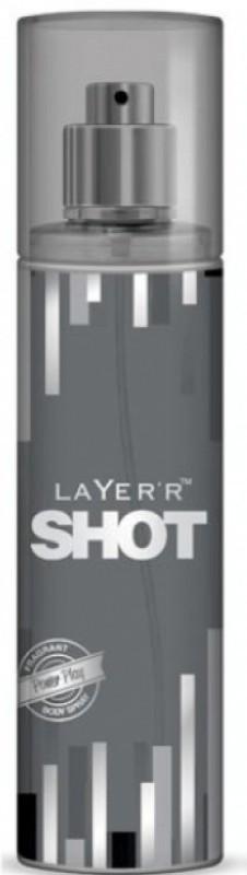 Layerr Shot POWER PLAY Body Spray - For Men(135 ml)