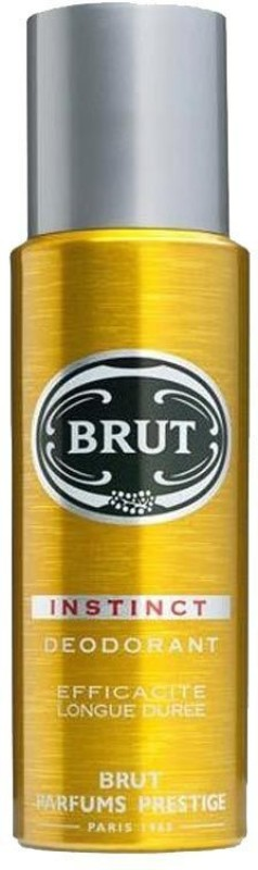 Brut Instinct Deodorant Spray - For Men(199 ml)