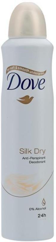 Dove Silk Dry - Anti-Perspirant Deodorant Spray - For Men & Women(99 ml)