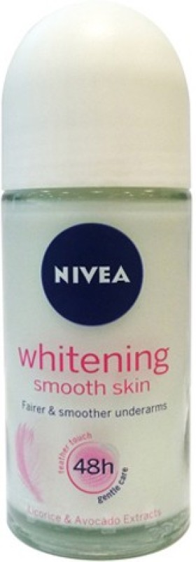 Nivea Whitening Smooth Skin Deodorant Roll-on - For Women(50 g)