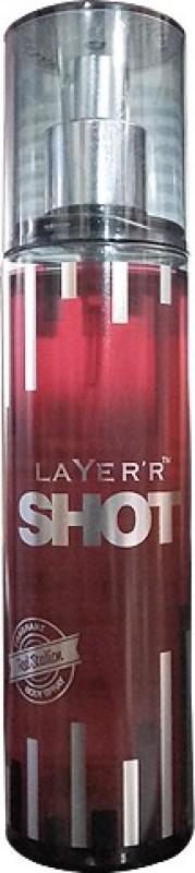 Layerr Shot Red Stallion Body Spray - For Men(135 ml)
