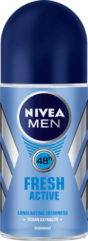 Nivea Fresh Active Deodorant Roll-on - For Men(50 ml)