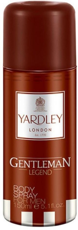 Yardley London Gentleman Legend Deodorant Spray - For Men(150 ml)