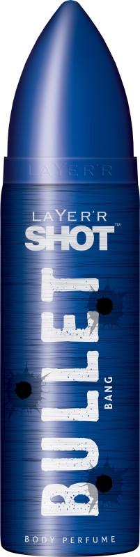 Layerr Shot Bullet Bang Deodorant Spray - For Men(120 ml)