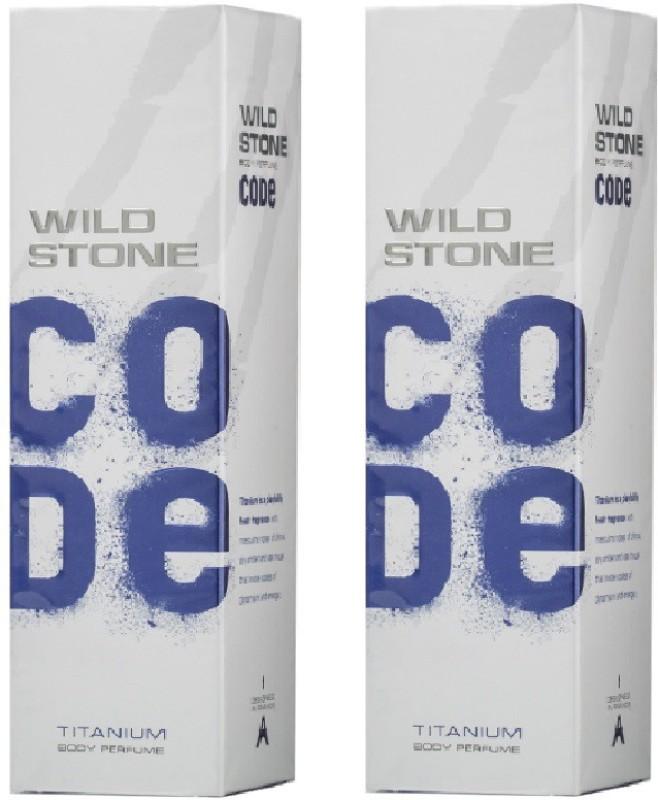 Wild Stone Titanium Body Spray  -  For Men(240 ml) image