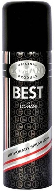 Lomani Best Original Deodorant Spray - For Men(200 ml)